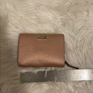 Rose Gold Kate Spade Wallet